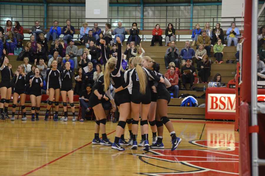 Volleyball season ends in section semifinal defeat