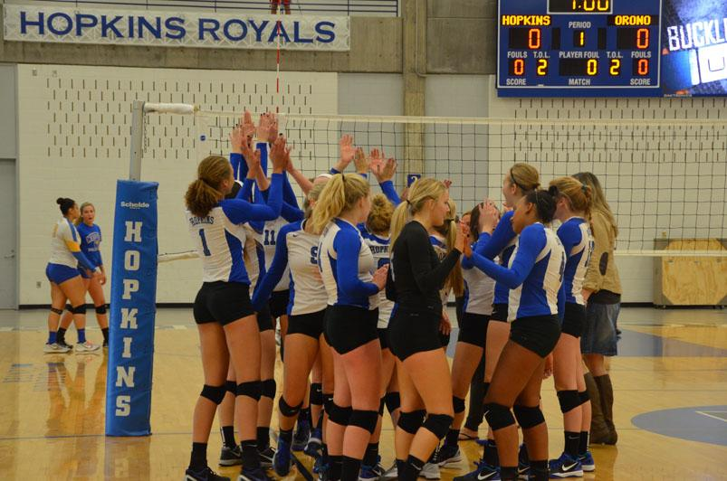 Girls volleyball cruises to section semifinals