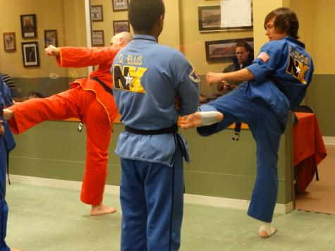 HHS' very own Karate Kids