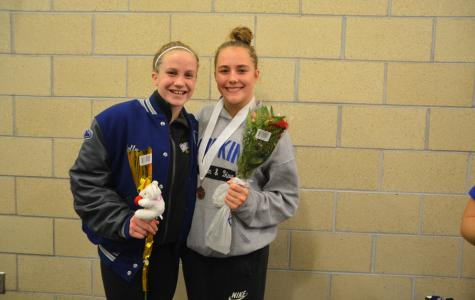 Brace places third at state meet
