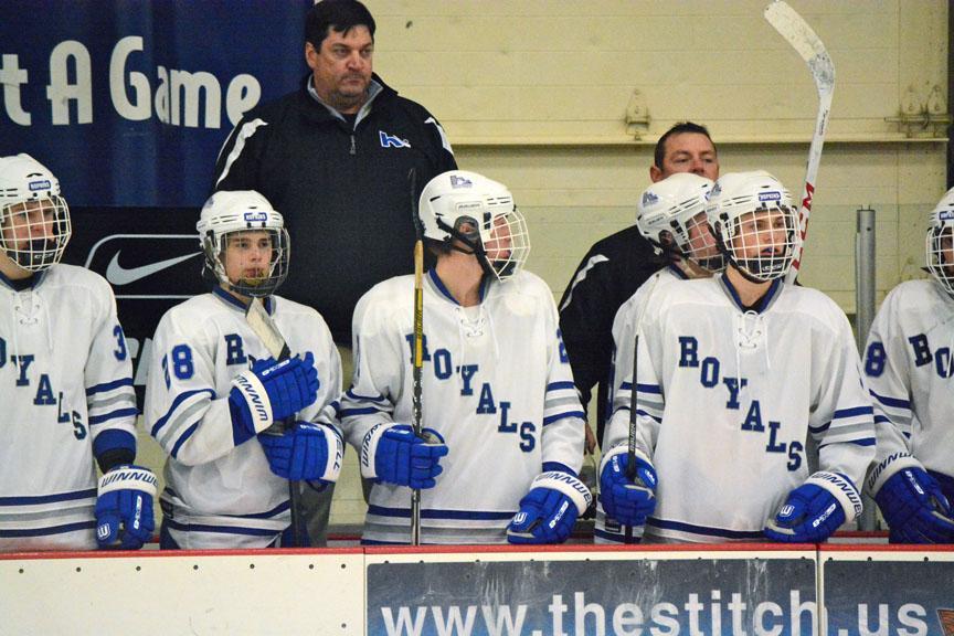 Boys hockey team hits the ice