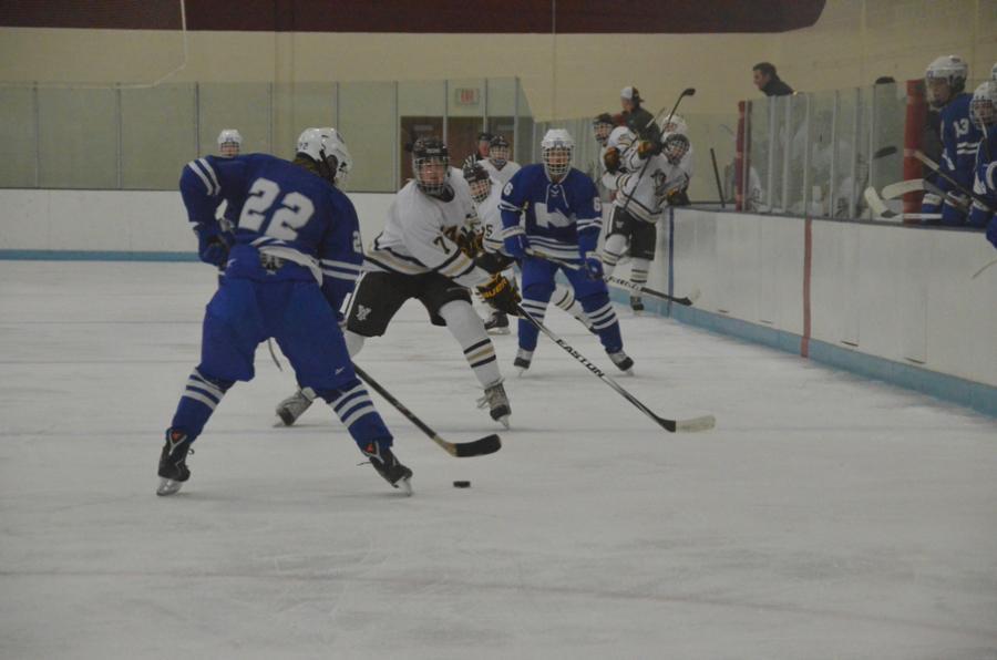 Boys hockey soars over Eagles