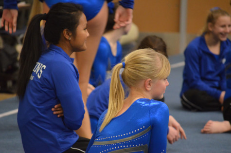 Infusion of youth powers gymnastics team
