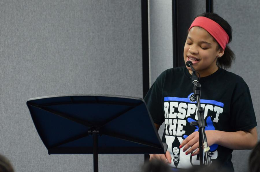 Poetry Slam held at Alice Smith