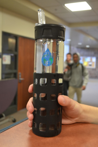 Earth Club raises awareness with water bottles