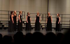 HHS choir programs put on final concert