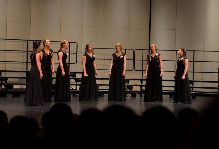 HHS choir programs put on final concert