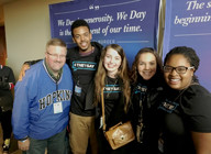 Students represent HHS at We Day