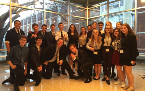 Model United Nations competes in first conference