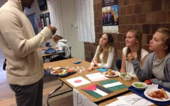 Clubs hand out ribbons of peace, support