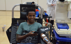 Hopkins students participate in blood drive