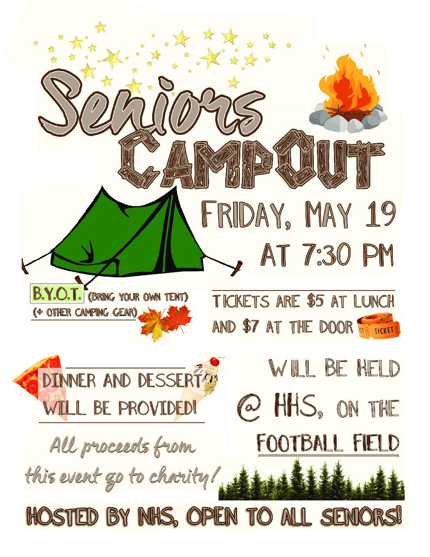 Hopkins On: Senior Camp Out
