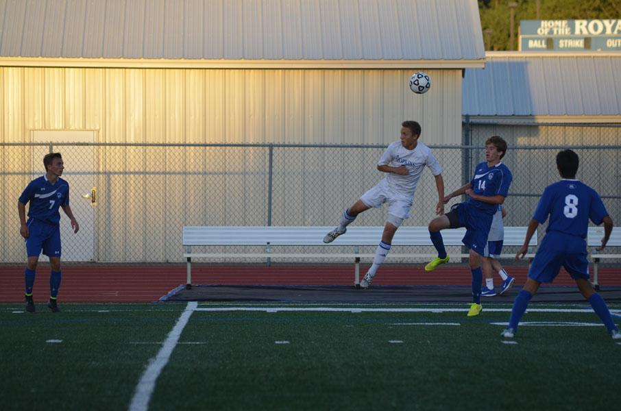 Photos from the varsity boys soccer game vs Minnetonka.