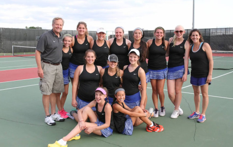 Girls tennis eliminated in section semis