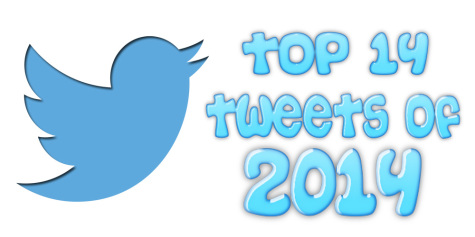 Top 14 tweets from 2014