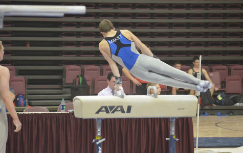 Makey to continue illustrious gymnastics career in college