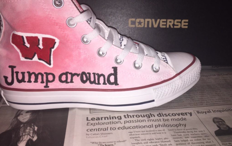 Converse shoes are Paavola's canvas
