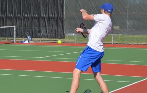Boys tennis cruises by Eagan