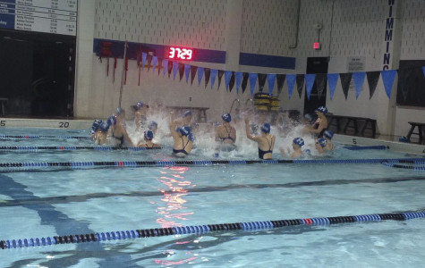 Girls swim wins first dual meet in eight years