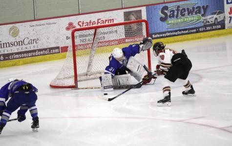 Royals girls hockey season ends with loss against Cretin-Derham Hall