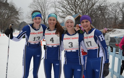 Four skiers qualify for nordic state meet