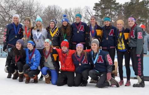 16 girls from Section 6 received awards after a day of racing. They will compete in the state meet on Feb. 11.