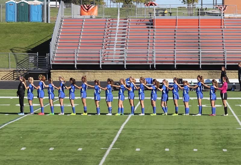Girls 2016-2017 Varsity soccer team