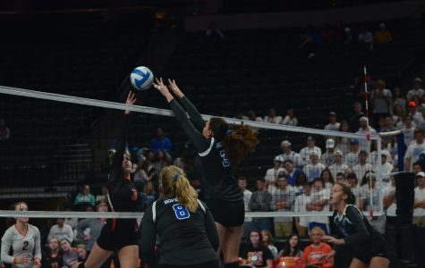 Royals volleyball takes down Hornets in first Lake Conference matchup