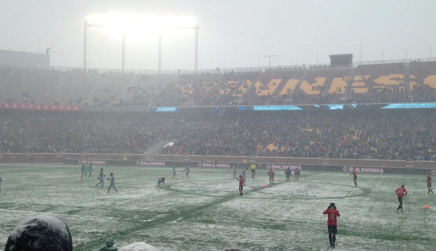 Minnesota United plays home opener at TCF Bank Stadium
