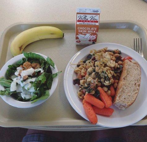 Appreciating school lunches