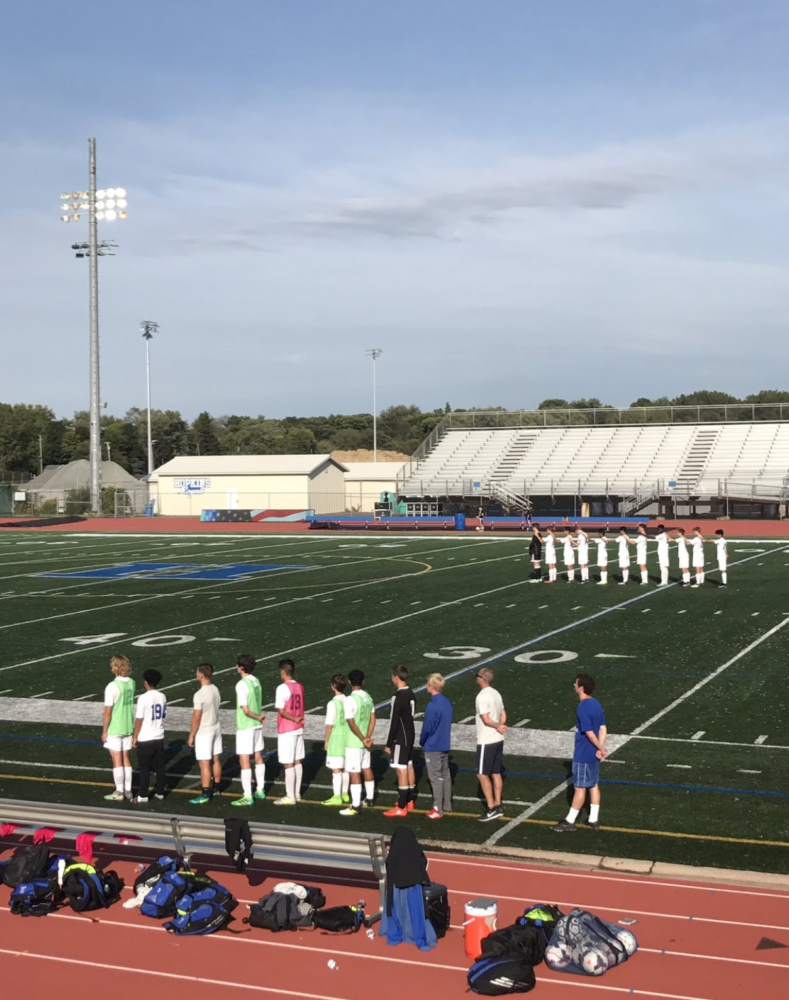 Recap: Boys' and girls' soccer looks to bounce back from doubleheader loss