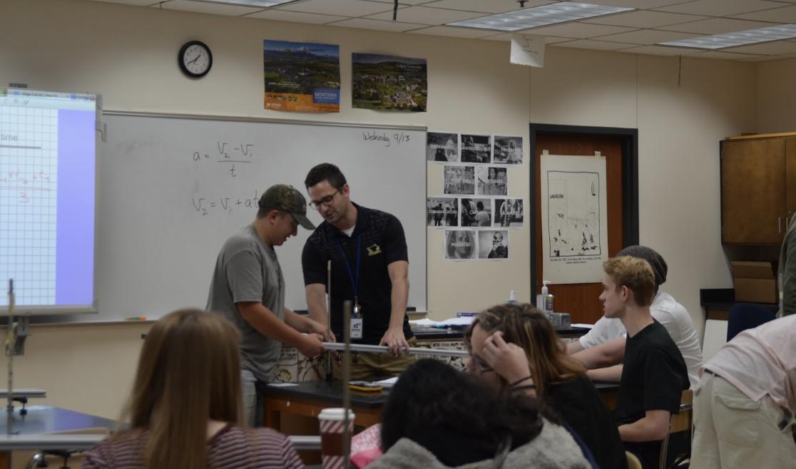 Junior high teachers take on HHS