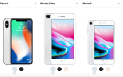 Apple introduces new iPhone X and 8