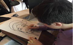 Cohen brings art to life with caricature business