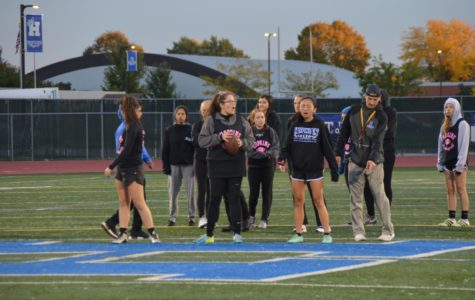 Seniors take W in annual Powderpuff game