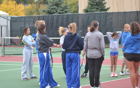 Girls tennis finish remarkable season, fall short to Hornets in section finals