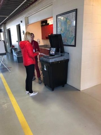 HHS students participate in 2017 local election