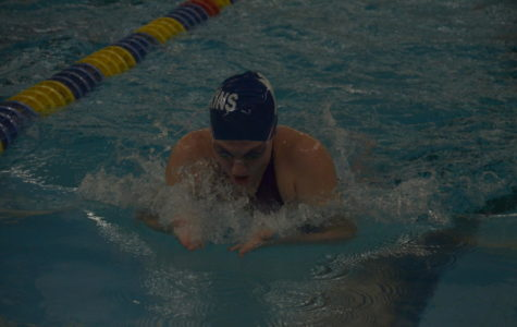Girls swim and dive gains momentum at section 5AA prelims