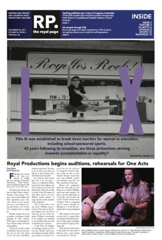 The Royal Page Print Edition: Volume 36 Issue 8