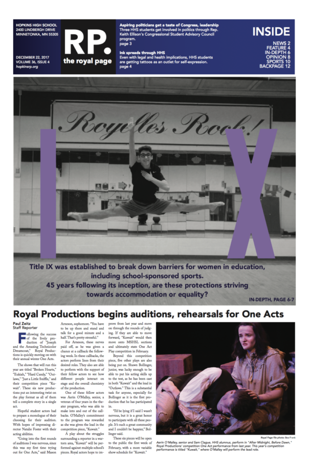 The Royal Page Print Edition: Volume 36 Issue 4