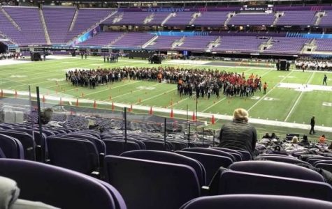 Royelles perform at Super Bowl Halftime Show