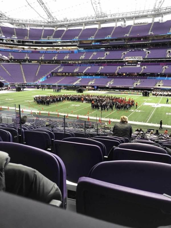 Royelles perform at Super Bowl Halftime Show