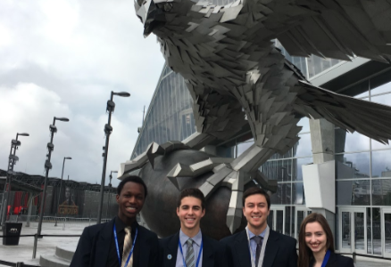 Four HHS students compete at DECA Nationals in Atlanta