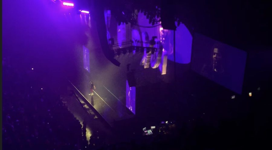 J-Cole lights up Target Center on KOD tour