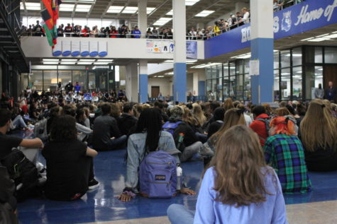 Students sit-in to stand up for sexual assault survivors