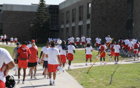 Fresno State football program utilizes HHS facilities in preparation for game against Gophers