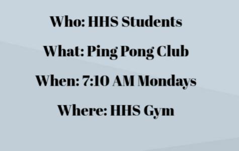 Club Spotlight: Ping Pong Club