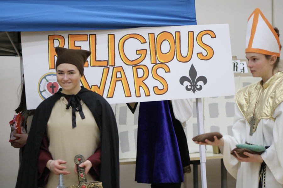 AP Euro students come together for this year's Renaissance Festival