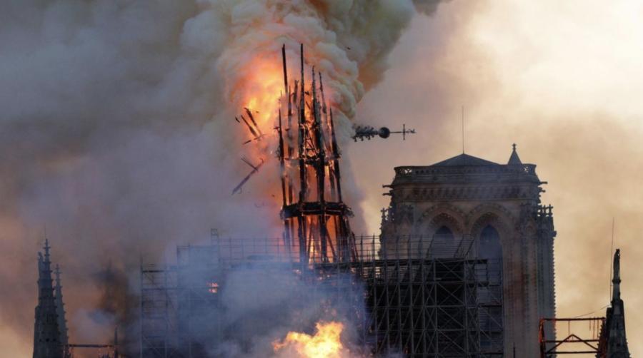 Tragic fire occurs at Notre Dame in Paris