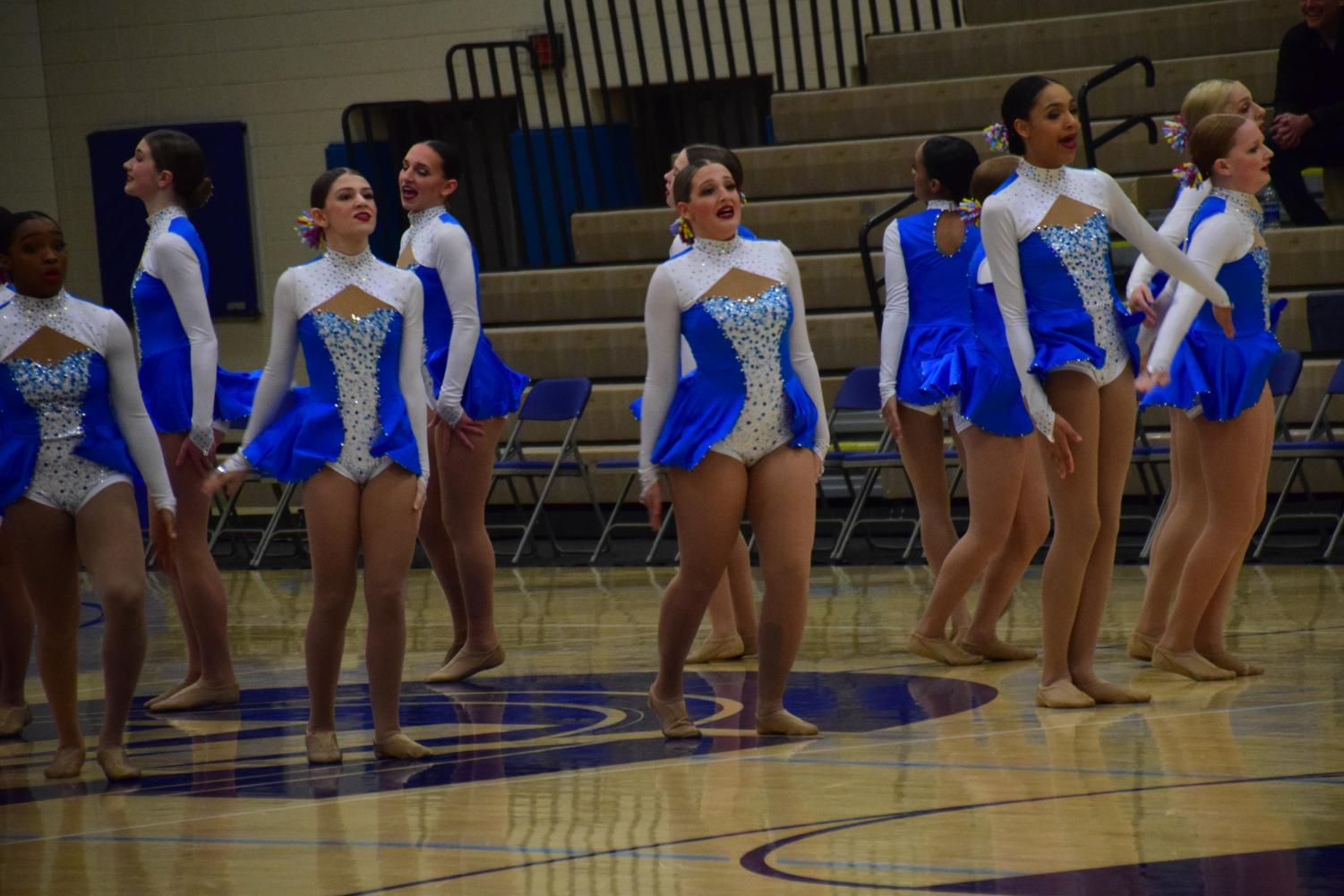 HRDT performing their routine at Wayzata High School. Unfortunately, the Royelles did not make state.